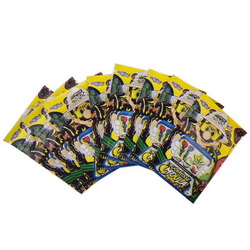 Мешочки 7 х10 см с застежкой-молнией, Мультяшные мешочки для сорняков, 3,5 г, индивидуальные сумки с принтом и окошком для хранения табака, опто...