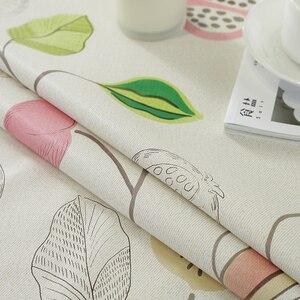 Image 5 - Groen Blad Gedrukt Ronde Tafelkleed Waterdicht Tafelkleed Thuis Eettafel Cover Voor Kithchen Kamer Oilproof Wasbare
