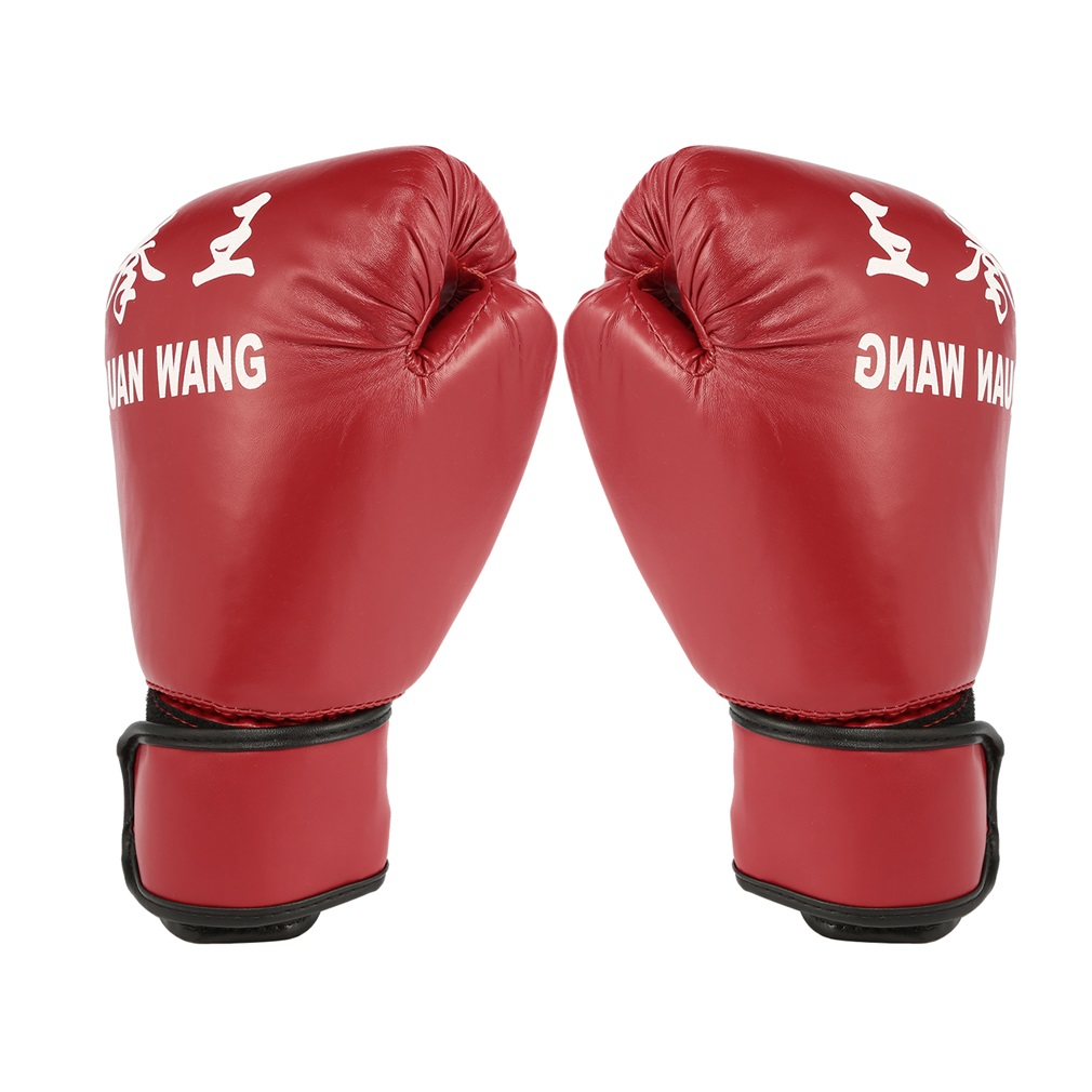 Red & Black Adult Boxing Gloves Professional Sandbag Liner Gloves Kickboxing Gloves Pugilism Men Women Training Fighting Tool