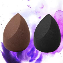 1Pcs Makeup Sponge Water Drop Shape Make Up Sponge Cosmetic Puff for Face Liquid Foundation Cream Blending Beauty Powder Puff 1pcs jelly soft silicone gel powder puff sponge for cosmetic face foundation bb cream beauty makeup tool with smile face