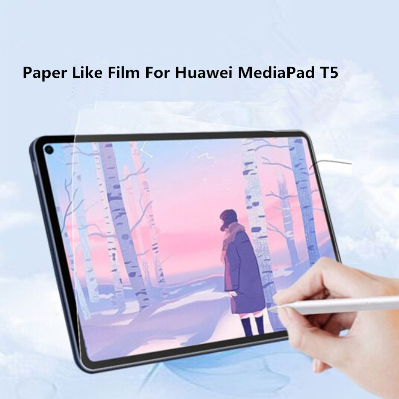 For Huawei MediaPad T5 10.1 Paper-Like Screen Protector Write &Draw and Sketch with The Pen Like on Paper