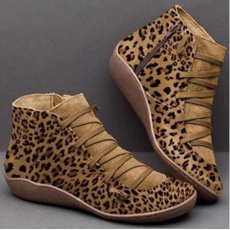Mujer Zapatos para entrenamiento Otoño Invierno Cruz Strappy Fitness zapatos Punk botas planas Mujer Zapatos Deportivos PU botines