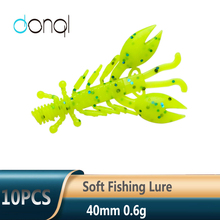 Soft Baits Fishing-Tackle-Set Worm Larva Easy-Shiner DONQL Silicone Artificial-Baits