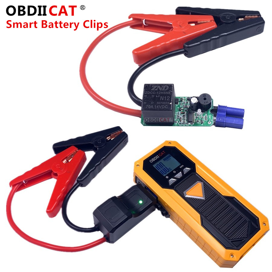 EC-5 EC5 Replacement Car Portable Battery Jump Starter Smart Cable for Car Battery Smart Clamps Battery Clips