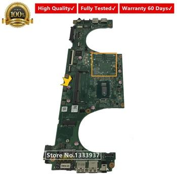 DAJW8GMB8C1 JW8G para DELL Vostro 5480 V5480 portátil mothrboard SR1EK I3-4005U CPU CN-041VDN 041VDN 41VDN placa base