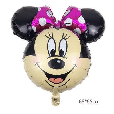Minnie head pink