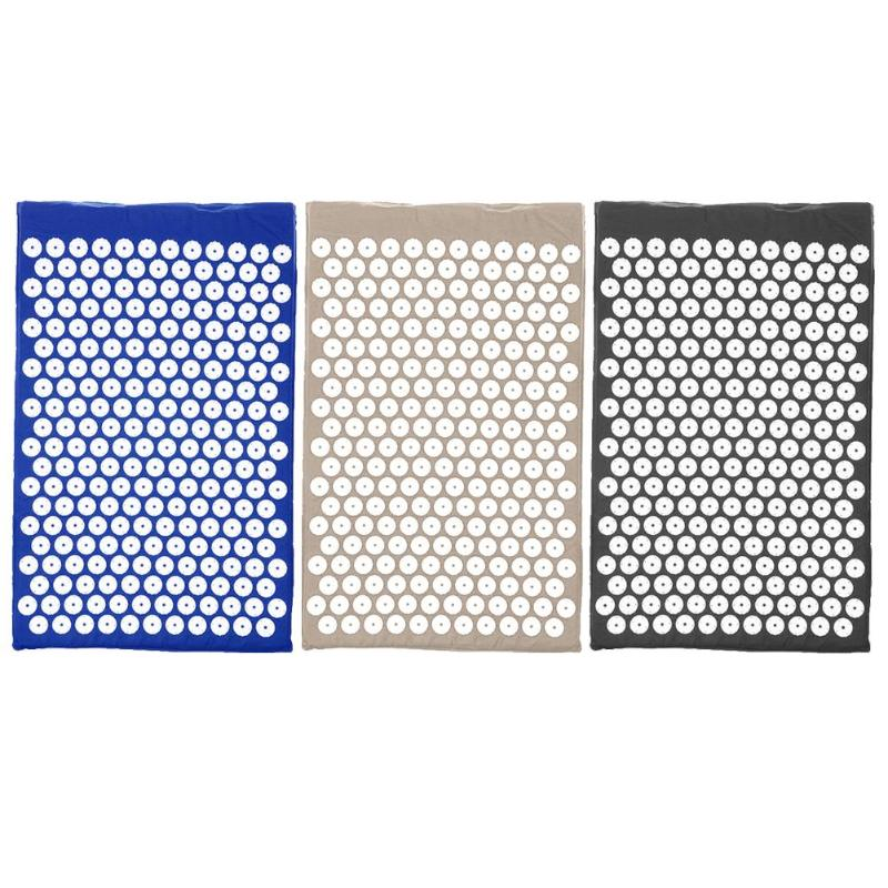 Hot Sale Yoga Mats Comfortable Relieve Stress Back Pain Spike Yoga Pad Massager Cushion Acupuncture Relaxation Dredging Of Blood