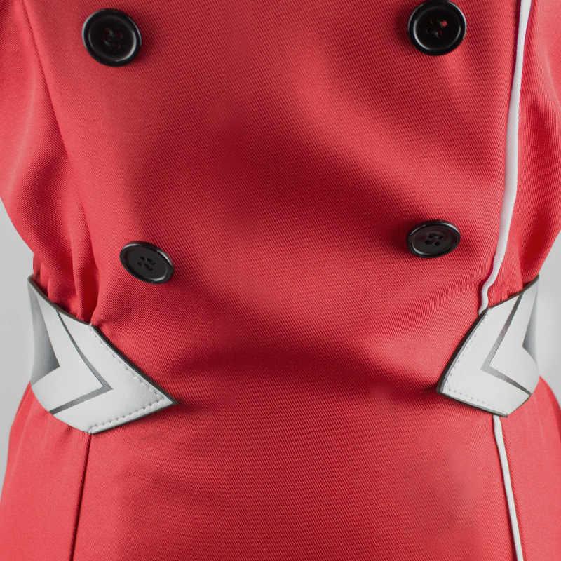 Anime DARLING in de FRANXX Cos HIRO ICHIGO Nul Twee MIKU KOKORO School Uniform Cosplay Kostuum Sets Halloween Pak Outfit