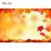 Autumn Backdrop Forest Fallen Leaves Baby Shower Children Birthday Photography Background For Photo studio Photocall Photophone allenjoy photography backdrop leaves wall green nature baby shower children background photo studio photocall