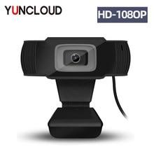 Caméra Web HD 1080P USB Webcam haute définition 12.0MP caméra Web avec micro caméra clipsable prise en charge pour Windows XP win2003 win7 8 10