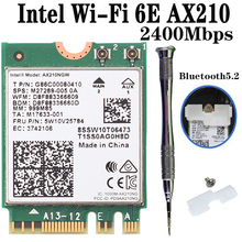Network-Adapter Wifi-Card Ax200 Ngff Bluetooth 5.1 Intel Ax210 3000mbps M.2 Dual-Band