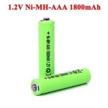 4 pièces rechargeables NI-Mh AAA 1.2v, 1800mAh, 1.2V, pour voiture électrique télécommandée, jouet RC ues