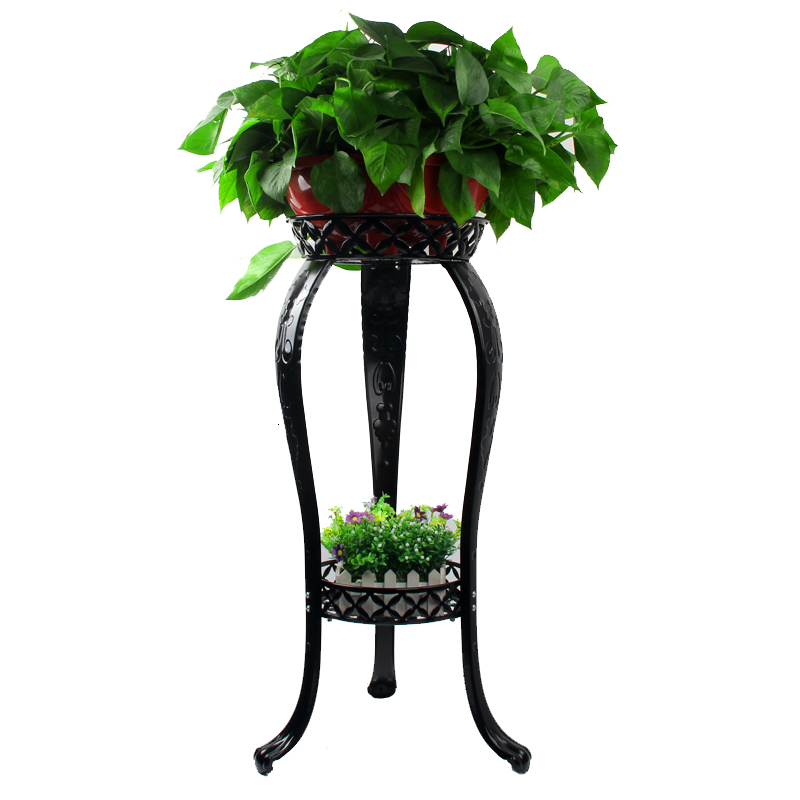 Household Multi-storey Shelf Indoor Balcony Iron Art Landing Type Flowerpot Frame Flower Rack