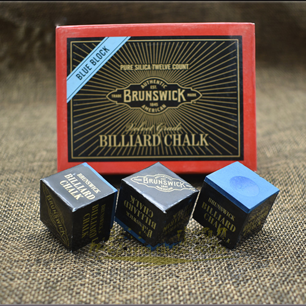Fox Smiling Snooker Billiard Chalk Pool Cue Chalk Oil Dry Billiard No-slip Chalk Table Chalk With Good Quality