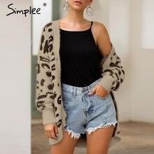 toevallige herfst jas leopard