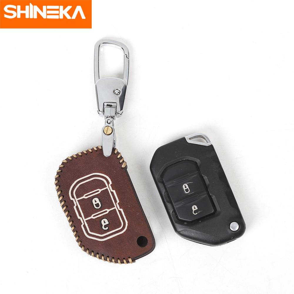 Car Keys Cover Organizer Key Holder Bag Key Case Keys Holder Case For Jeep Wrangler JL 2018 Car Accessories Interior For Jeep JL