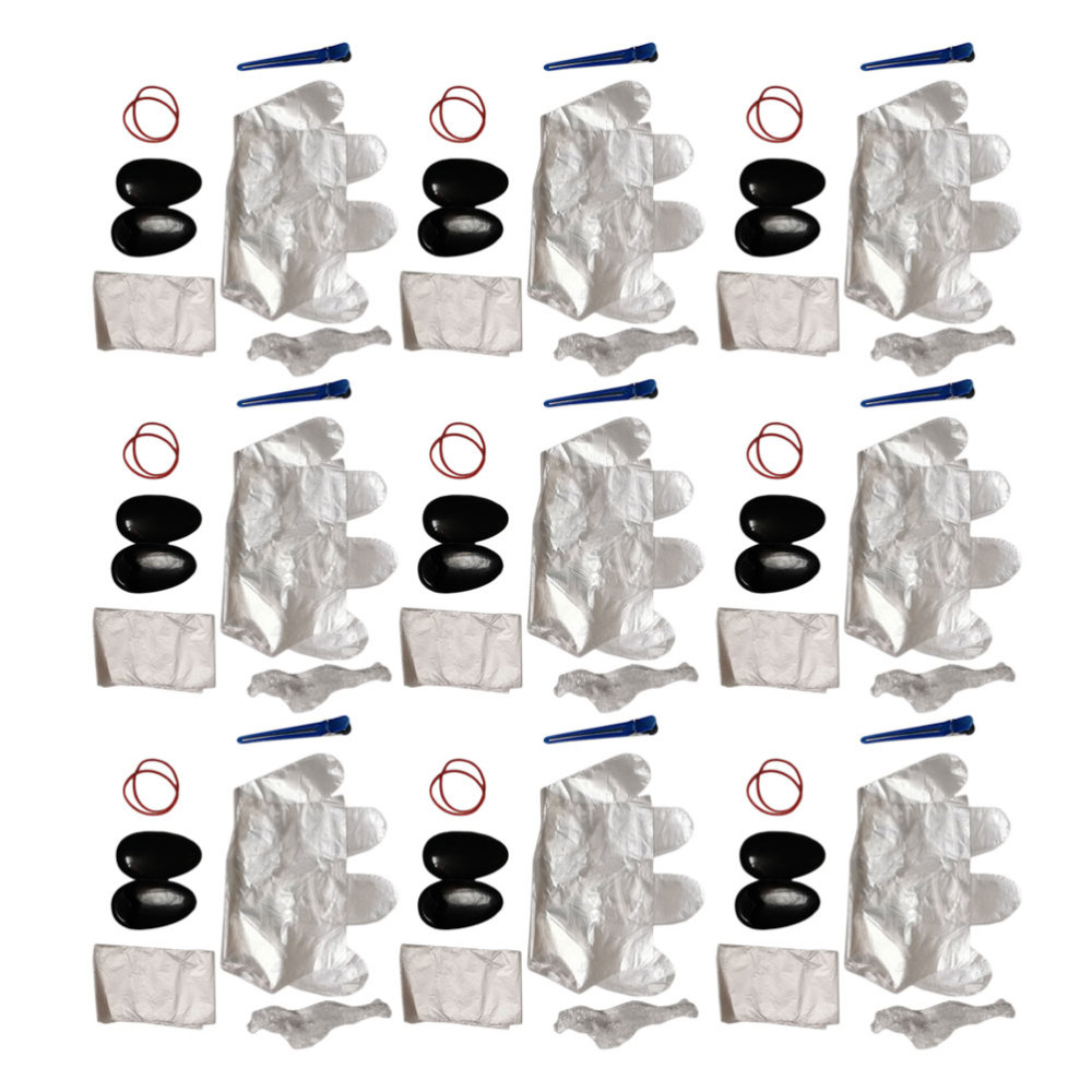 Ferramenta para Casa Kit de Colorir Kit de Ferramentas de Tingimento de Cabelo Conjuntos Cabelo Completo Descartável Faça Você Mesmo Portátil Loja 50