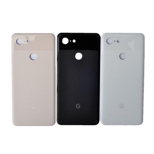 Pixel3 XL バックカバー Google のピクセル 3 XL 6.3 インチオリジナル住宅後部ドア修理交換用バッテリーケース