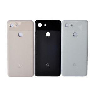 Image 1 - Задняя крышка Pixel3 XL для Google Pixel 3 XL, 6,3 дюймов, оригинальный корпус, задняя крышка, ремонт, замена, чехол для аккумулятора