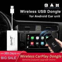 Carlinkit Wireless Smart Link Apple Carplay Dongle untuk Android Navigasi Pemain Mini USB Carplay Stick dengan Android Auto