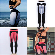 Fashion digital printing high stretch leggings casual sweat-absorbent breathable ladies waist hip sexy