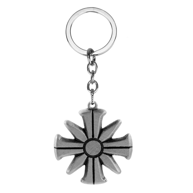 Game Far Cry 5 Keychain Ares 4 Eden S Gate Farcry 5 Cult Pendant Key Rings Men Women Fans Collection Trinkets Key Chains Aliexpress