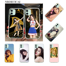 Phone-Case-Cover Sunmi Soft-Silicone 6s-Plus iPhone 11 NBDRUICAI for Pro-Xs MAX 5S Lee