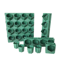 New Three-dimensional Vertical Green Plant Pot Wall Hanging Flower Multi-layer Combination Balcony Bonsai Garden Decorative