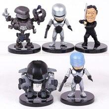 RoboCop мини ПВХ фигурки, Коллекционная модель, игрушки, 5 шт./компл.
