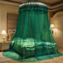 Princess Bed Curtain Tent Home Dome Foldable Bed Canopy with Hook Ceiling-Mounted Mosquito Net Free Installation