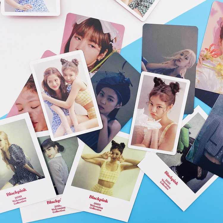 1set Kpop BLACKPINK photocard new album 2020 blackpink welcome collection high quality HD photo lomo card.jpg q50