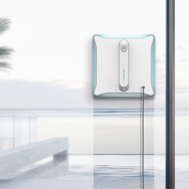 Mobile App Control Robot Window Cleaner for Automatic and Quick Window Glass Cleaning