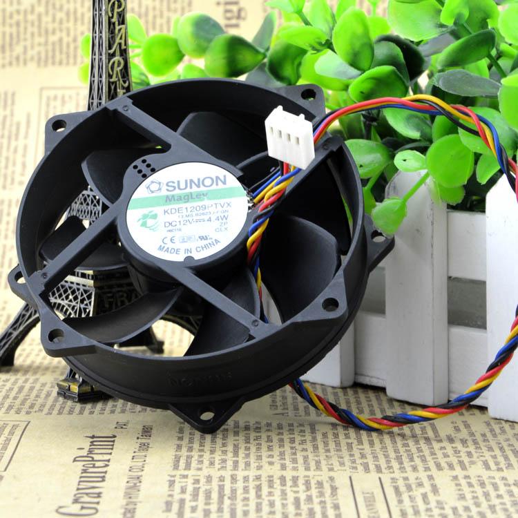 SUNON 9CM 8CM 8025 9225 90//80mm x 25mm KDE1209PTVX Maglev Cooler Cooling Fan 12V 4.4W