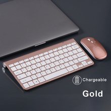 Mouse-Set Gaming-Keyboard Gamer Wireless Rechargeable And Mini for PC Laptop Desktop