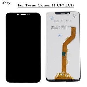 Image 1 - Lcd dla Tecno Camon 11 pro CF7 CF8 wyświetlacz LCD ekran dotykowy panel digitizera montaż dla Tecno Camon 11 CF7 naprawa ekranu 6.2