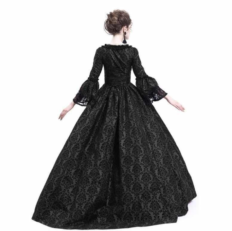 Saray mahkemesi prenses elbise ince zarif balo kare yaka dantel cadılar bayramı kostümleri rönesans ortaçağ elbise yetişkin kadın