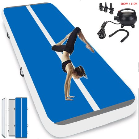 3/4/5m Inflatable Trampoline Air Track Yoga Mat Gymnastics Mattress Airtrack Tumbling Floor Mat Gym Exercise Tumbling mat