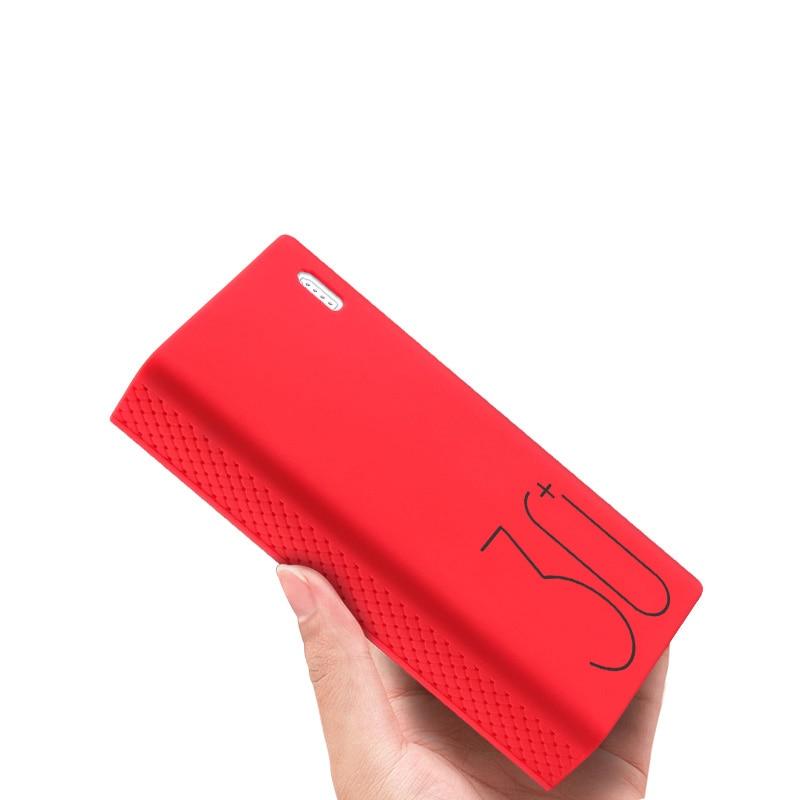 Silicone Case For Romoss Sense 8  / 8+ Mobile Power Soft Silicone Anti-collision Anti-skid Cover Romoss Sense 8 Case