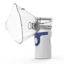 Mini HandheldแบบพกพาInhale Nebulizer Silent Ultrasonic Autoclean Inalador Nebulizadorเด็กผู้ใหญ่เด็กสูดดมAtomizer