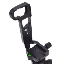 цена L Plate Bracket Camera Hand Grip Camera Holder For SONY A7M3/A9/A7R3 Stand Quick Release Plate Vertical Bracket в интернет-магазинах