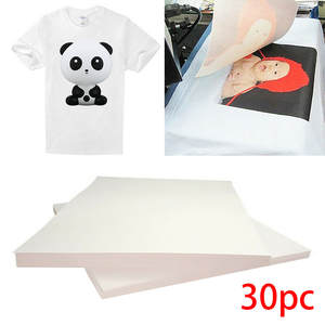 Transfer-Paper T-Shirt Fabric-Process Printing A4 for on Light 30pcs