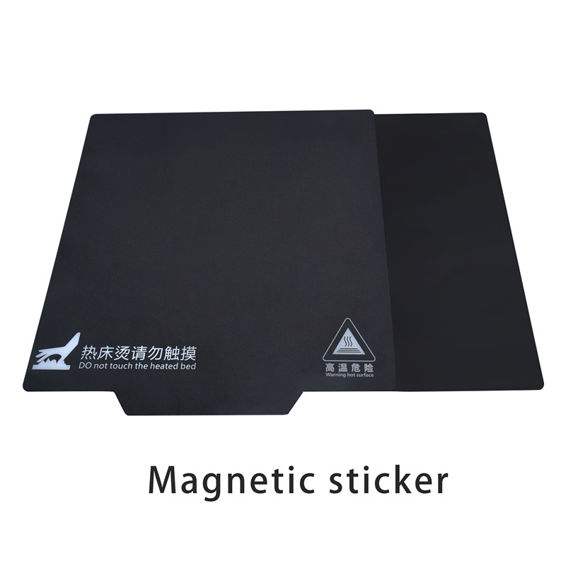 3D Printer Parts Magnetic Print Bed Tape Square Heatbed Sticker Hot Bed Build Plate Tape Surface Flex Plate 200/214/235/310mm