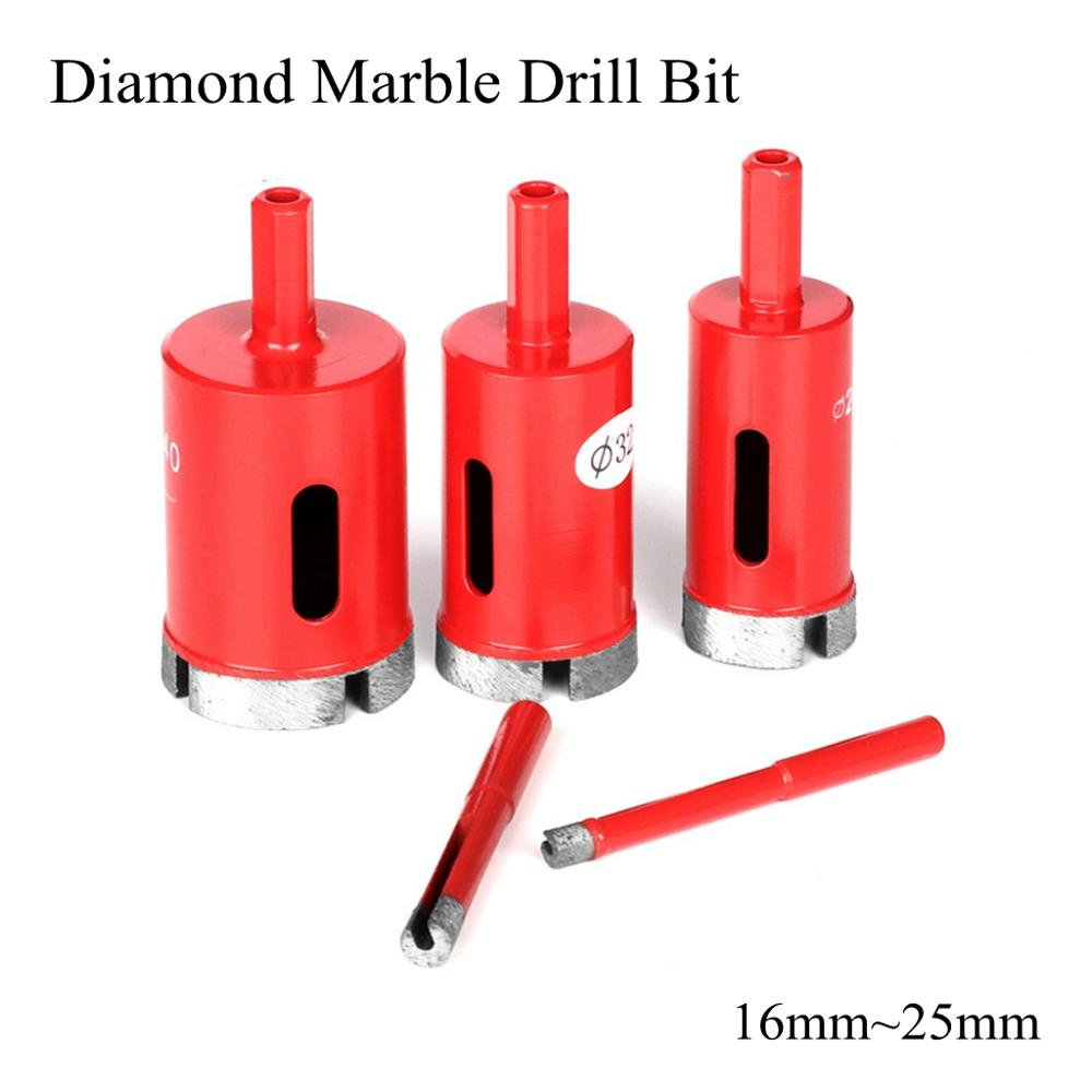 Marble Granit Tile Ceramic Cutter Tool Diamond Hole Saw Drill Bits 25mm