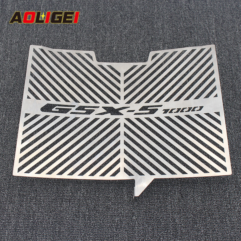 Fit for <font><b>SUZUKI</b></font> GSXS1000 <font><b>GSX</b></font>-S1000F FA 2015 2016 2017 2018 Motorcycle Radiator Guard Protectors Grill Stainless Steel Cover Black image