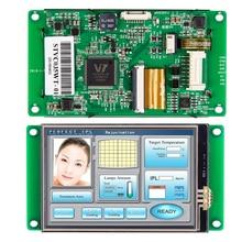 Микроконтроллер интерфейс сенсорного экрана, 8-дюймовый ЖК-дисплей с программным обеспечением контроллер + для промышленного управления