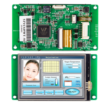 MCU Interface Touch Screen 3.5  inch LCD Display with Controller + Software for Industrial Control industrial display lcd screen10 4 inch lq104s1lh01 lcd screen