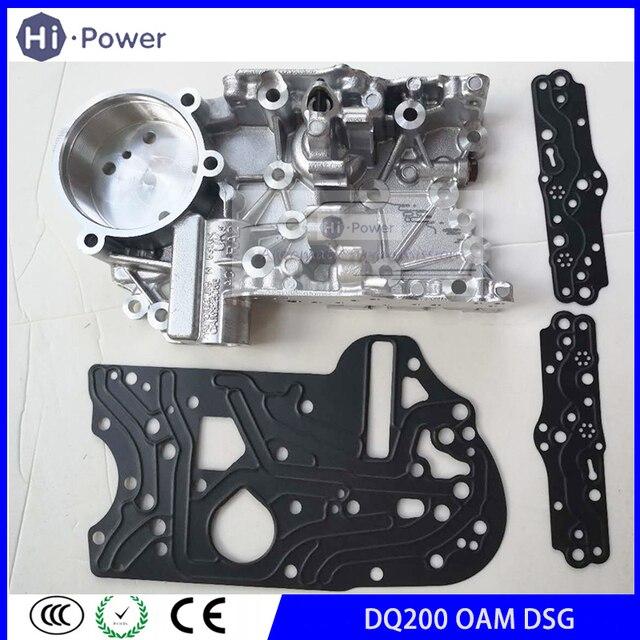 Dq200 0am dsg garbox caixa de transmissão acumulador habitação 0am325066c 0am325066ae 0am325066ac para audi vw oam 7 speed
