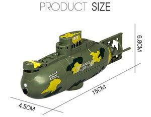 Image 3 - 3311M דגם 6CH גבוהה מהירות מנוע שלט רחוק סימולציה צוללת חשמלי מיני RC צוללת ילדים ילדי צעצוע מתנה