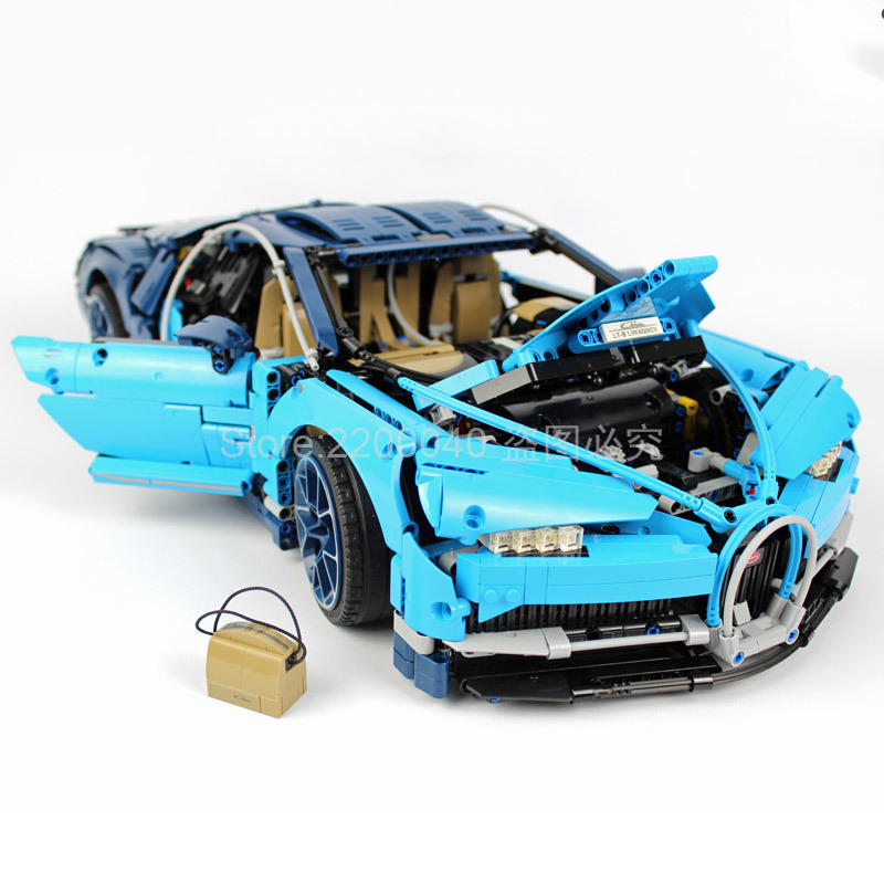20086 3599Pcs Bugattied Chiron Racing Car Technic Series Supercar Model Building Blocks Bricks Kids Toys For Gift 42083