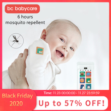 BC Babycare 96pcs Mosquito Repellent Patches Stickers Cartoon Travel Baby Adult Non Toxic Plant Essential Oil Repellent Sticker